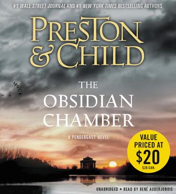 Obsidian Chamber (Agent Pendergast series) Cover Image
