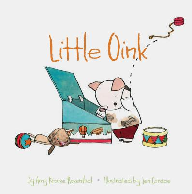 Little Oink: (Animal Books for Toddlers, Board Book for Toddlers) Cover Image