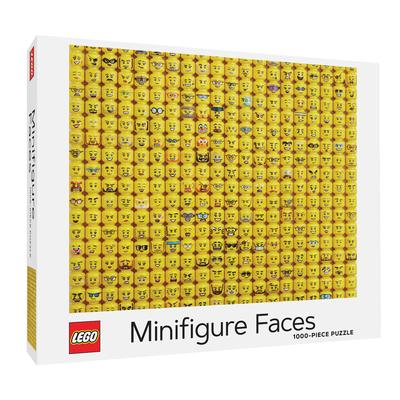 LEGO Minifigure Faces Puzzle Cover Image