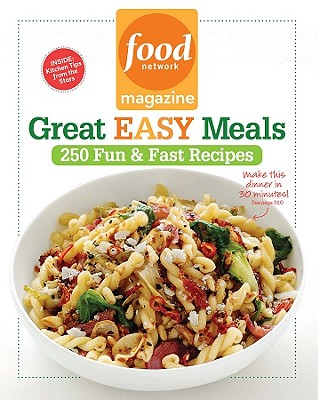 Food Network Magazine Great Easy Meals Cover