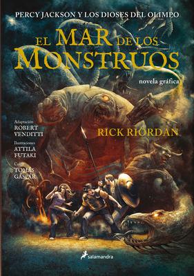 El Mar de Los Monstruos. Novela Gráfica / The Sea of Monsters: The Graphic Novel Cover Image