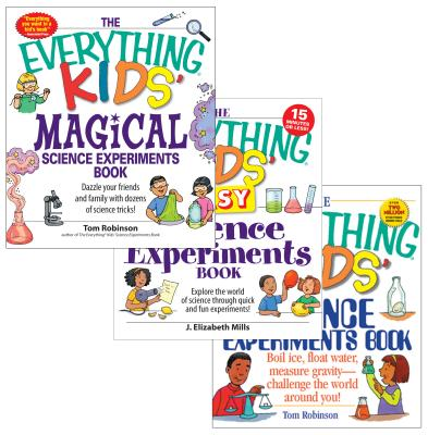 The Everything Kids' Science Experiments Bundle [With 2 Paperbacks] Cover Image