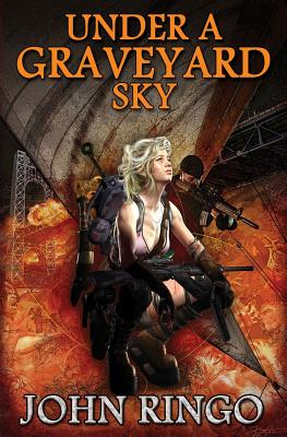 Under a Graveyard Sky (Black Tide Rising #1) Cover Image
