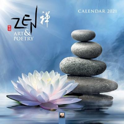 Zen Art & Poetry Wall Calendar 2021 (Art Calendar) Cover Image
