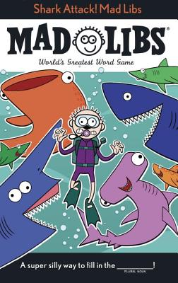 Shark Attack! Mad Libs Cover Image