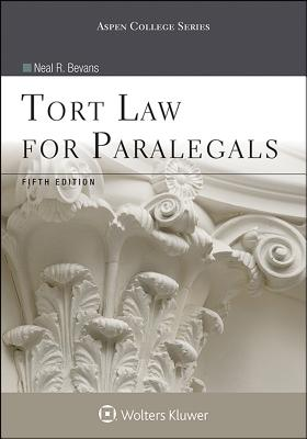 Tort Law for Paralegals (Aspen College) Cover Image