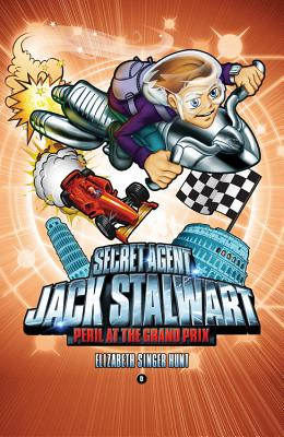 Secret Agent Jack Stalwart: Book 8: Peril at the Grand Prix: Italy (The Secret Agent Jack Stalwart Series #8) Cover Image