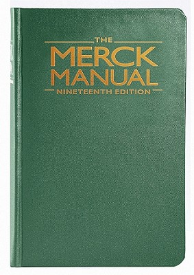 The Merck Manual of Diagnosis and Therapy Cover