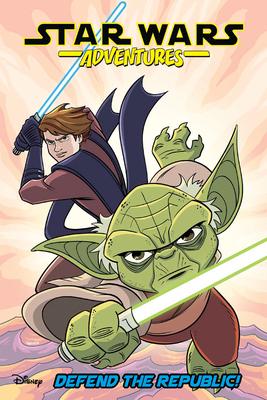 Star Wars Adventures Vol. 8: Defend the Republic! Cover Image