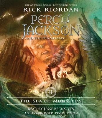 The Sea of Monsters: Percy Jackson and the Olympians: Book 2 Cover Image