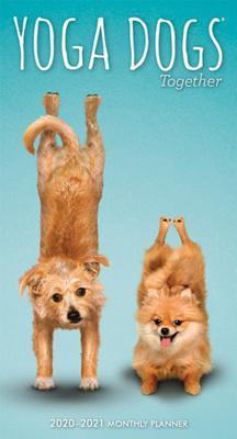 Yoga Dogs Together 2020 Pocket Planner Plato Cover Image