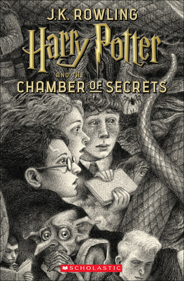 Harry Potter and the Chamber of Secrets (Brian Selznick Cover Edition) Cover Image