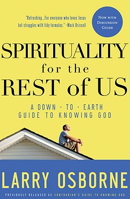 Spirituality for the Rest of Us Cover