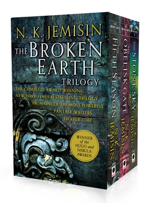 The Broken Earth Trilogy: The Fifth Season, The Obelisk Gate, The Stone Sky Cover Image