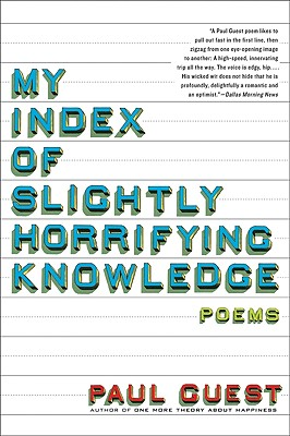 My Index of Slightly Horrifying Knowledge Cover