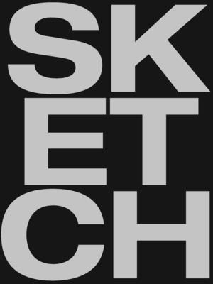 Sketch - Large Black (Creative Keepsakes #17) Cover Image