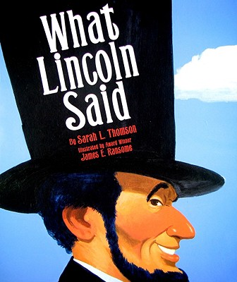 What Lincoln Said Cover