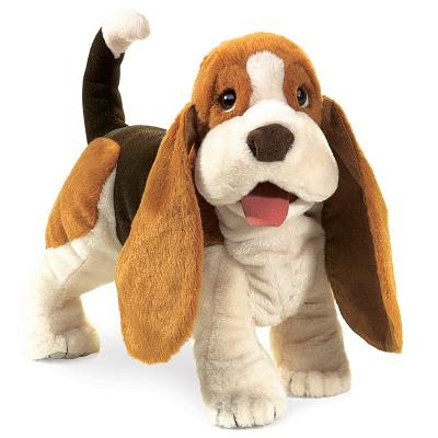 Puppet Basset Hound Cover Image