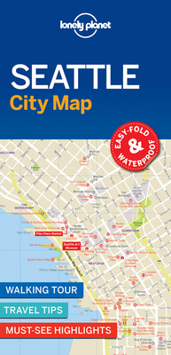 Lonely Planet Seattle City Map Cover Image