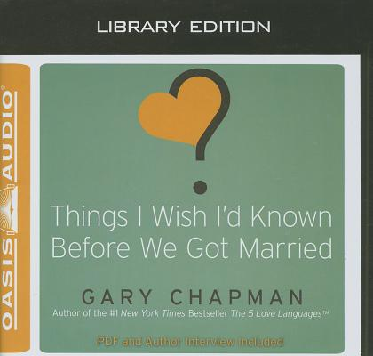 Things I Wish I'd Known Before We Got Married (Library Edition) Cover Image