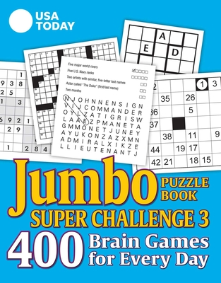 USA TODAY Jumbo Puzzle Book Super Challenge 3 (USA Today Puzzles #30) Cover Image