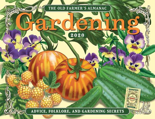 The 2020 Old Farmer's Almanac Gardening Calendar Cover Image