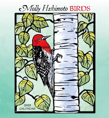 Molly Hashimoto: Birds 2021 Wall Calendar Cover Image