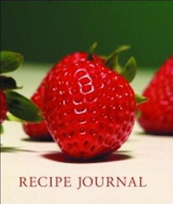 Strawberry Recipe Journal Cover