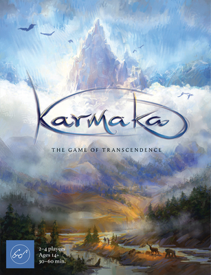 Karmaka: The Game of Transcendence (Tactical Card Game About Reincarnation for 2–4 Players, A Competitive Card Game of Strategy and Karmic Cycles) Cover Image