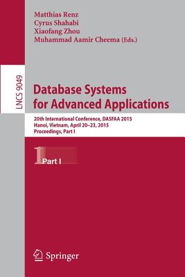 Cover for Database Systems for Advanced Applications