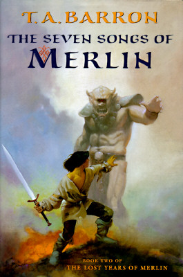 The Seven Songs of Merlin (Merlin Saga #2) Cover Image