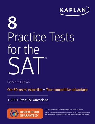 Cover for 8 Practice Tests for the SAT