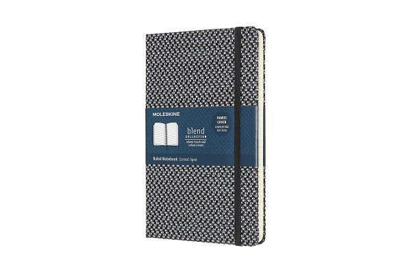Moleskine Blend Limited Collection Notebook, Large, Ruled, Black (5 x 8.25) Cover Image