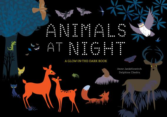 Animals at Night: A Glow-In-The-Dark Book Cover Image