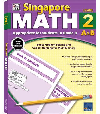 Singapore Math, Grade 3 Cover Image