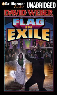 Flag in Exile (Honor Harrington (Audio) #5) Cover Image