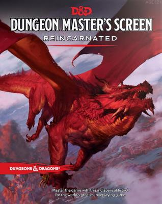 Dungeon Master's Screen Reincarnated (Dungeons & Dragons) Cover Image