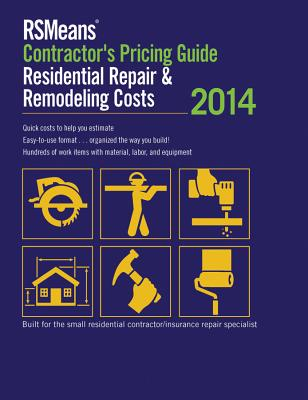 RSMeans Contractor's Pricing Guide: Residential Repair & Remodeling Cover Image