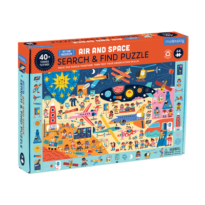 Air and Space Museum Search & Find Puzzle Cover Image