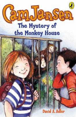 Cam Jansen: the Mystery of the Monkey House #10 Cover Image