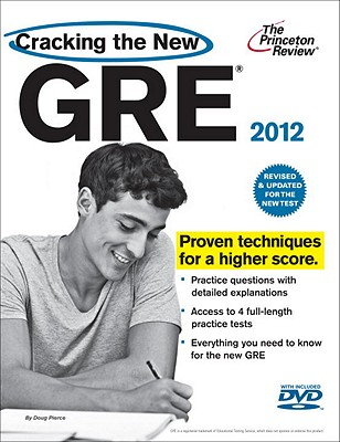 Cracking the New GRE with DVD, 2012 Edition Cover