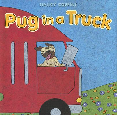 Pug in a Truck Cover