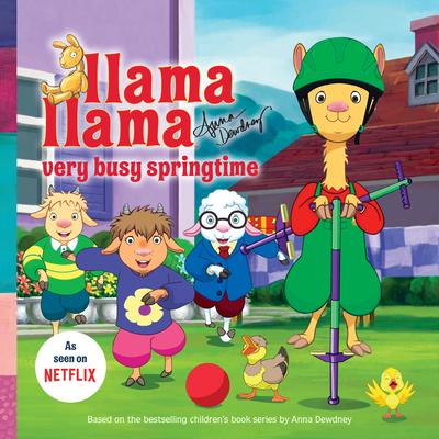 Llama Llama Very Busy Springtime Cover Image