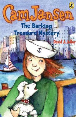 Cam Jansen: the Barking Treasure Mystery #19 Cover Image