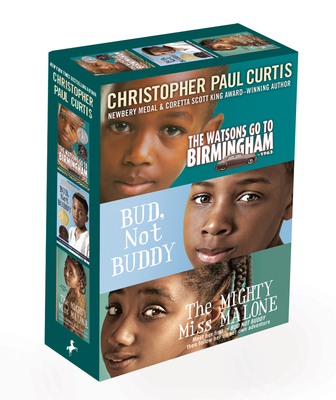 Christopher Paul Curtis 3-Book Boxed Set: The Watsons Go to Birmingham--1963; Bud, Not Buddy; The Mighty Miss Malone cover