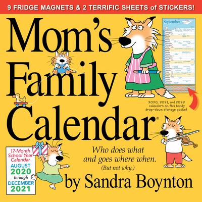 Mom's Family Wall Calendar 2021 Cover Image