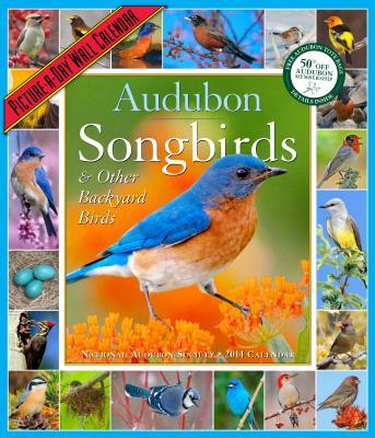 Cover for Audubon Songbirds & Other Backyard Birds Calendar 2014