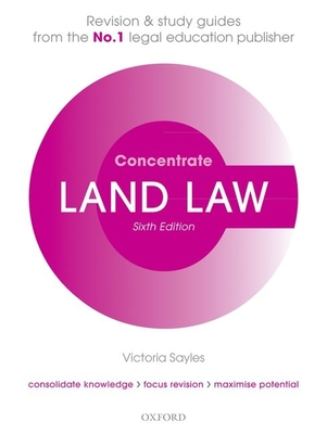 Land Law Concentrate: Law Revision and Study Guide Cover Image