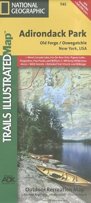 Old Forge, Oswegatchie: Adirondack Park (National Geographic Maps: Trails Illustrated #745) Cover Image