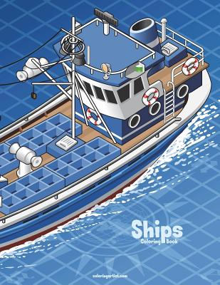 Ships Coloring Book 1 Cover Image